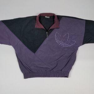 Vintage Adidas Quarterzip Windbreaker